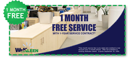 1 MONTH FREE SERVICE WITH 1-YEAR SERVICE CONTRACT*